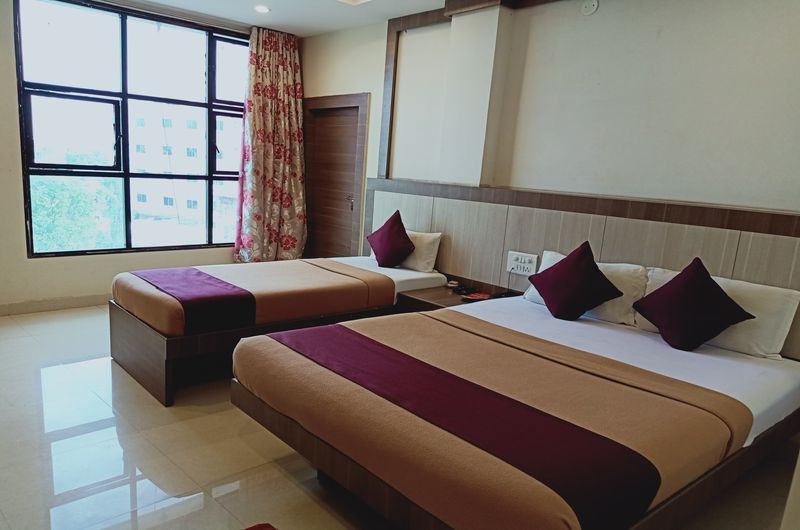 Hotel Neem Tree- Triple Bed Non AC-5